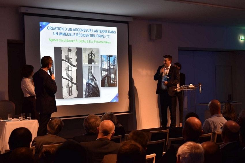 Agence d'architecture A. Bechu & Eco Pro Ascenseurs
