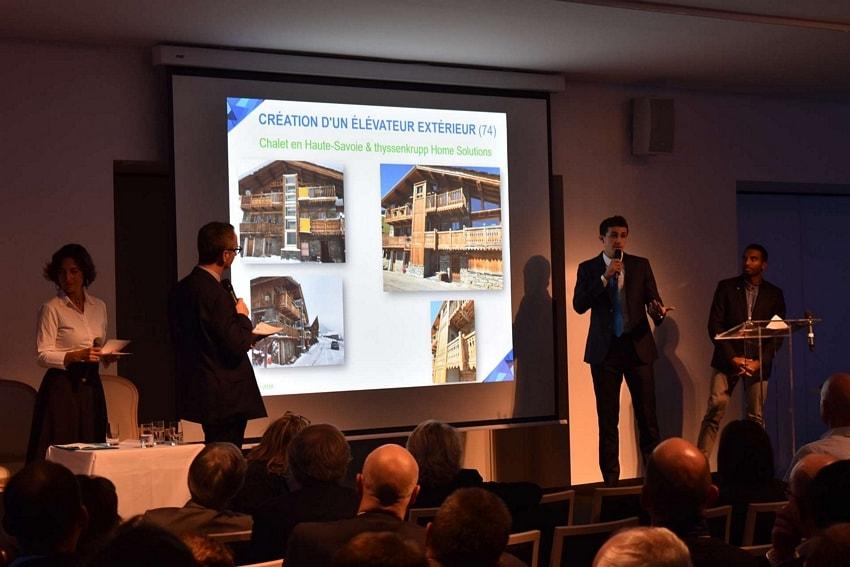 Chalet de Haute Savoie et ThyssenKrupp Home Solutions
