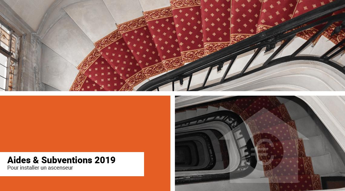Aides, subventions et allocations pour installer un ascenseur en France en 2019